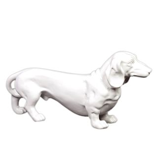 Urban Trends Collection White Ceramic Standing Dog 749b1a56 dcd7 47dd