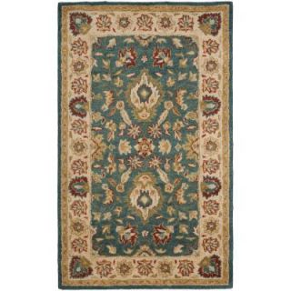 Safavieh Antiquity Blue/Beige 3 ft. x 5 ft. Area Rug AT15A 3