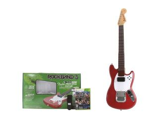 Mad Catz Rock Band 3 Fender Mustang Pro guitar Bundle w/Red Hot Chili Peppers Bonus Tracks