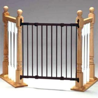KidCo Angle Mount Safeway Child Gate Black