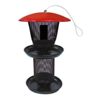 No/No Red and Black Multi Seed Bird Feeder RBMT00341