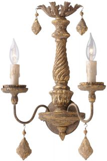 Troy Lighting B3992 Antique French Gold Wall Light
