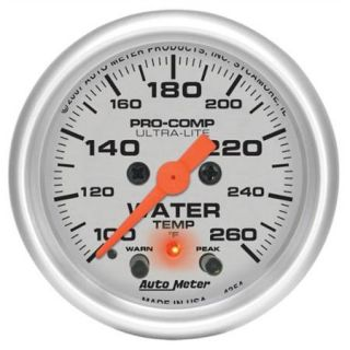 Auto Meter 4354 Ultra Lite Electric Water Temperature Gauge