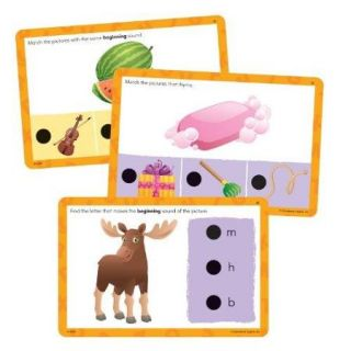 Educational Insights Hot Dots Jr. Cards Beginning Phonics   Word (2352)
