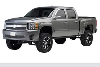 2007 2013 Chevy Silverado Pocket Style Fender Flares   EGR 791404   EGR Bolt On Look Fender Flares