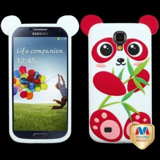 INSTEN Blue/ Black Panda Pastel Skin Phone Case Cover for Samsung