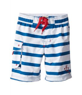 Hatley Kids Nautical Stripes Boardshorts (Toddler/Little Kids/Big Kids) Blue