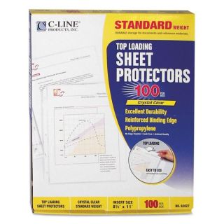 Avery Top Loading Diamond Clear Poly Sheet Protectors (Pack of 200)