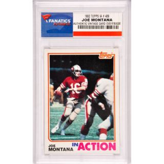 Joe Montana San Francisco 49ers 1982 Topps IA #489 Card
