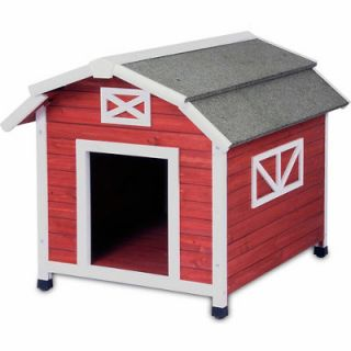 Precision Pet Products Old Red Barn Dog House
