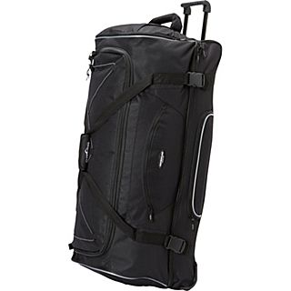 Travelers Club Luggage Adventure 36 2 Section Drop Bottom Rolling Duffel