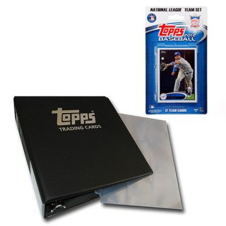 MLB 2012 National League All Star Team Topps Baseball Card Set and Binder Kit