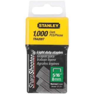 "Stanley 5/16"" Light Duty Staple TRA205T"