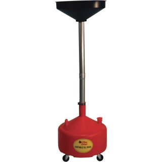 JohnDow Crew Chief Portable Oil Drain — 8 Gallons, Model# JDI-8DCP  Up Right
