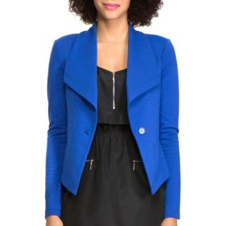 Miss Tina Women's Shawl Collar Blazer