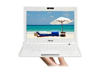 "ASUS Eee PC 900 16G – Pearl White NetBook Intel processor 8.9"" Wide SVGA 1GB Memory 16GB SSD Integrated Graphics"
