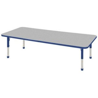 ECR4Kids 72'' x 30'' Rectangular Classroom Table