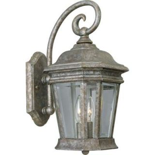 Progress Lighting Crawford Collection 2 Light Golden Baroque Wall Lantern P5671 50
