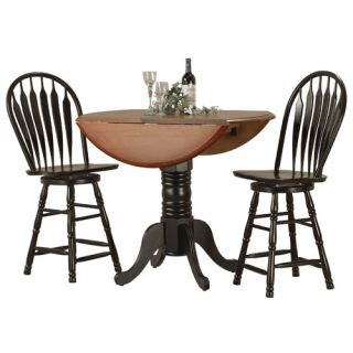 Sunset Trading Sunset Selections 3 Piece Pub Table Set