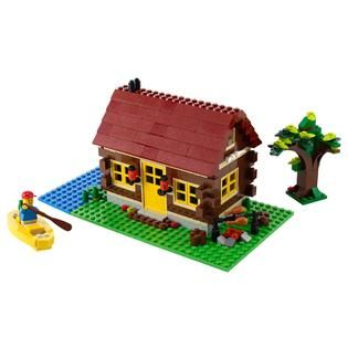 LEGO Creator Log Cabin 5766   Toys & Games   Blocks & Building Sets