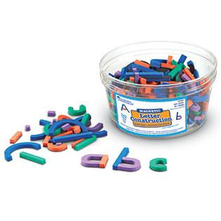 Learning Resources Magnetic Letter Construction   Toys & Games