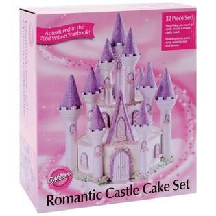 Wilton Romantic Castle Cake Set   Home   Crafts & Hobbies   General
