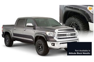 2014, 2015, 2016 Toyota Tundra Pocket Style Fender Flares   Bushwacker 30918 43   Bushwacker Color Match Pocket Style Fender Flares
