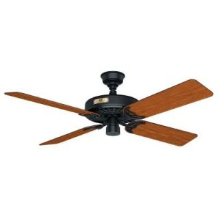 Hunter Original 52 in. Indoor/Outdoor Black Ceiling Fan 23838