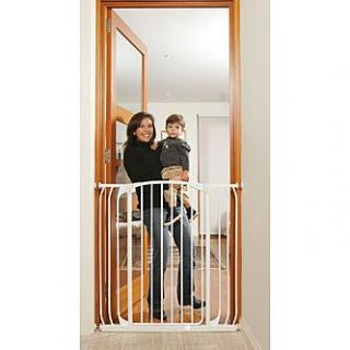 Dreambaby Chelsea Tall Xtra Hallway Swing Closed Security Gate Combo