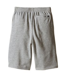Hurley Kids One & Only French Shorts (Big Kids) Dark Grey Heather