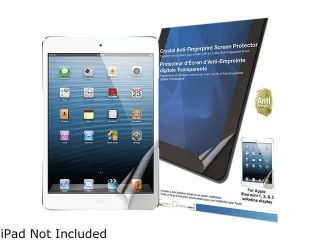 Green Onions Supply Crystal Anti Fingerprint Screen Protector for Apple iPad mini