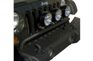 2007 2016 Jeep Wrangler Light Mounts & Wiring   Rugged Ridge 12496.12   Rugged Ridge Light Bar Kits