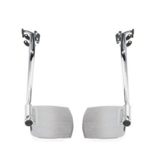 Drive Pair of Front Rigging for Sentra EC Heavy Duty Extra Wide and Swing Away Footrests ph sf