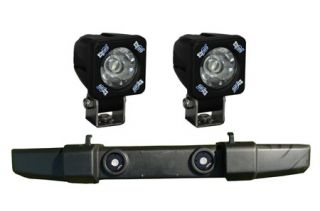 2007 2012 Jeep Wrangler Light Mounts & Wiring   Vision X XIL OE0711JKS1100   Vision X Fog Light Mounting Kit