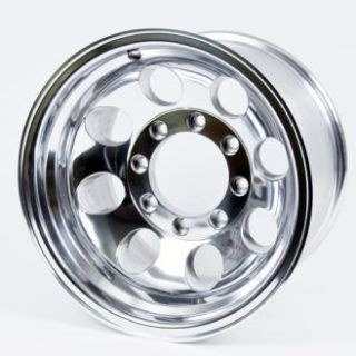 Pro Comp Alloy Wheels   Series 1069, 16x10 with 8 on 170 Bolt Pattern   Polished
