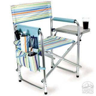 Sports Chair  St. Tropez   Picnic Time 809 00 991   Folding Chairs