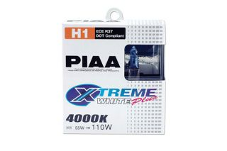 2003, 2004, 2005 Mitsubishi Eclipse Headlight Bulbs   PIAA 11655   PIAA Xtreme White Bulbs