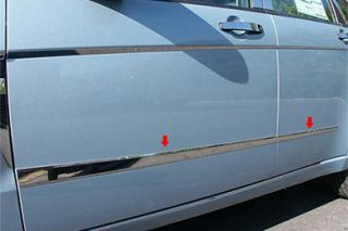 2008 2011 Ford Focus Chrome Rocker Panels & Side Molding   ProZ MI48345   ProZ Rocker Panel Trim