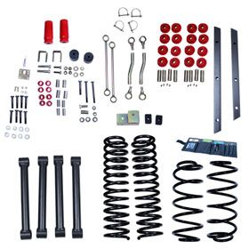 1997 2002 Jeep Wrangler Lift Kits   ORV 18401.4   ORV Complete Jeep Lift Kits