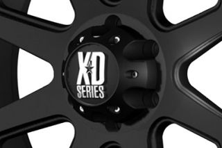 "XD Series XD79889080718   8 x 6.5"" Bolt Pattern Black 18"" x 9"" 798 Addict Matte Black Wheels   Alloy Wheels & Rims"