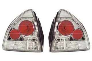 1992 1996 Honda Prelude Tail Lights   IPCW CWT 738C2   IPCW Euro Tail Lights