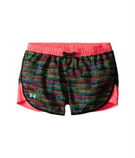 Under Armour Kids Fast Lane Novelty Shorts (Big Kids) Black/Harmony Red