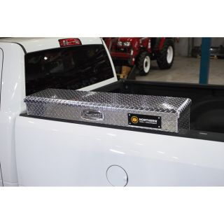 Locking Aluminum Side-Mount Truck Box — 48in. x 11 1/2in. x 11in.  Sidebed Boxes