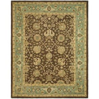 Safavieh Antiquity Brown/Green 7 ft. 6 in. x 9 ft. 6 in. Area Rug AT21G 8