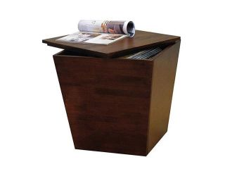 Winsome Wood 94418 Mesa Cube End Table Storage Box