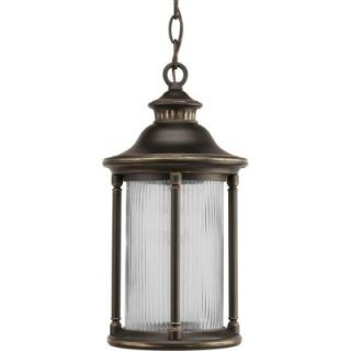 Progress Lighting Reside Collection Oil Rubbed Bronze 1 light Hanging Lantern P6502 108