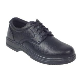 Deer Stags Service Black Size 9.5 Medium Plain Toe Utility Oxford Shoe for Men SRVC VEGA BLK 95M