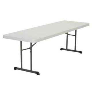 Lifetime 8 ft. L Professional Grade Folding Table in Putty (Set of 18) 880250