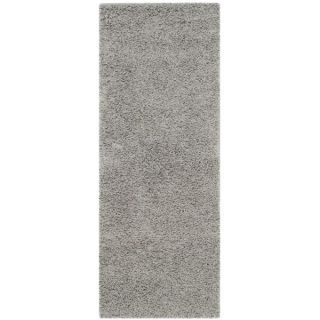 Safavieh Athens Shag Light Grey Rug (23 x 6)   17937826