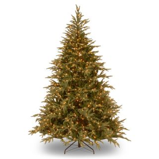 Feel Real Down Swept Douglas Slim Fir Hinged 7.5 foot Tree with 600